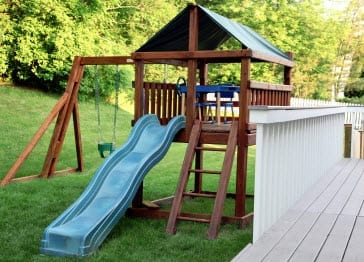 Personal Property Swing Set