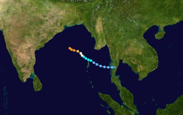 Severe Cyclone Phailin