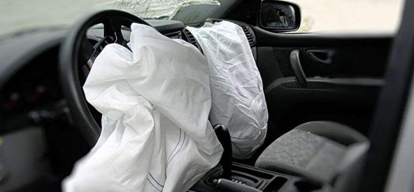 car safety airbag systems in order