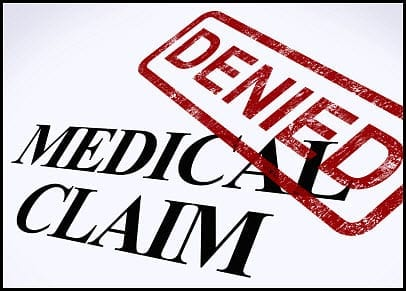 Travel insurance claims denied