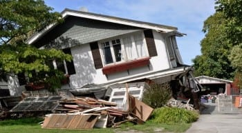 earthquake  insurance coverage