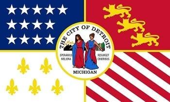 Auto insurance - Detroit flag