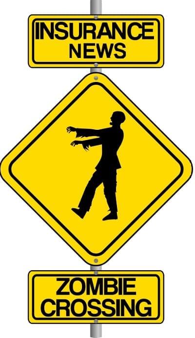 Zombie insurance news