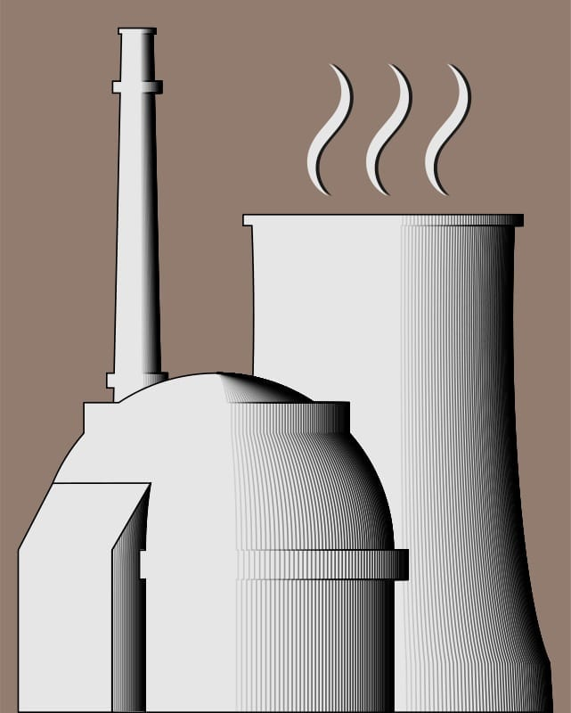 Nuclear Insurance Power Plant