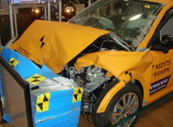 auto insurance crash test