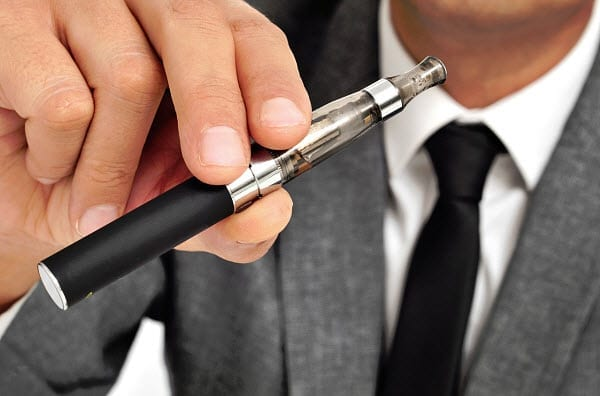 e-cigarette vapor health insurance