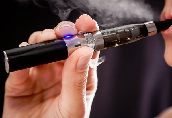 e-cigarettes or vapor