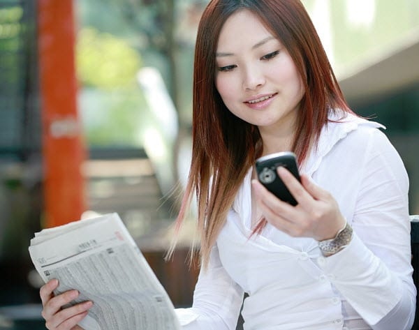 china newspaper mobile life insurance products
