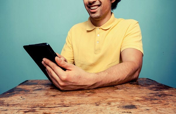 tablet mobile gaming insurance marketing