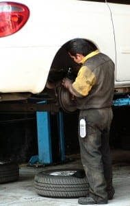 Auto insurance mechanic body shop repair