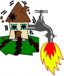 Texas homeowners insurance fracking wastewater earthquakes