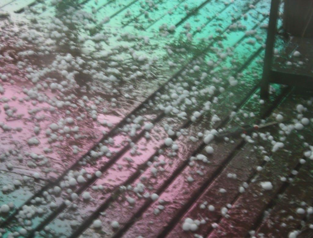 hail storm severe weather damage