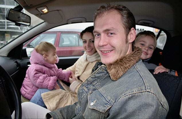 family auto insurance car road safety