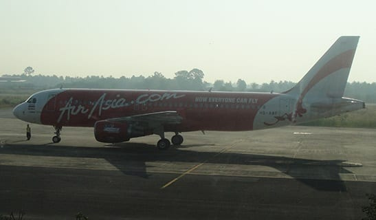 AirAsia airline insurance plane