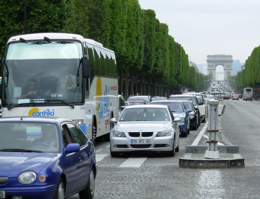 paris France auto insurance uber