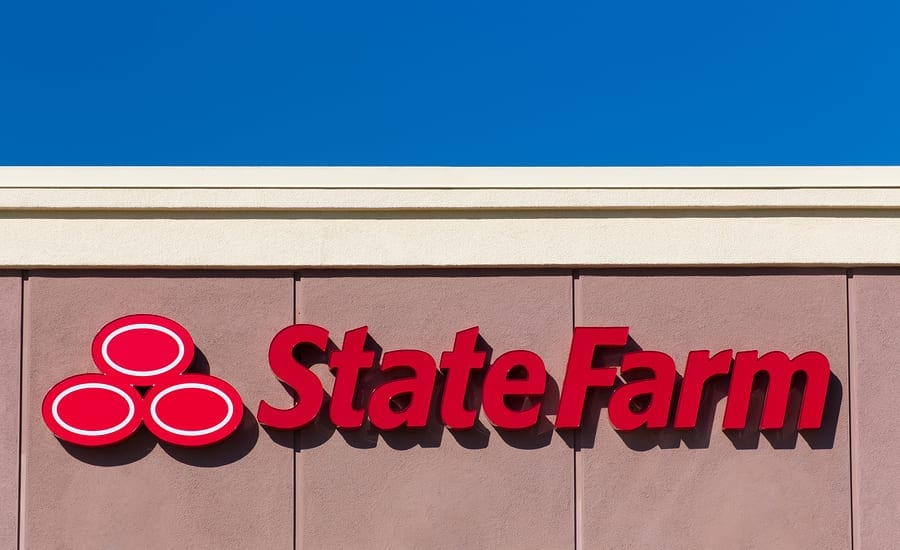 State Farm Insurance rates Logo And Exterior
