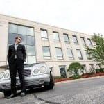 auto insurance business suit man luxury