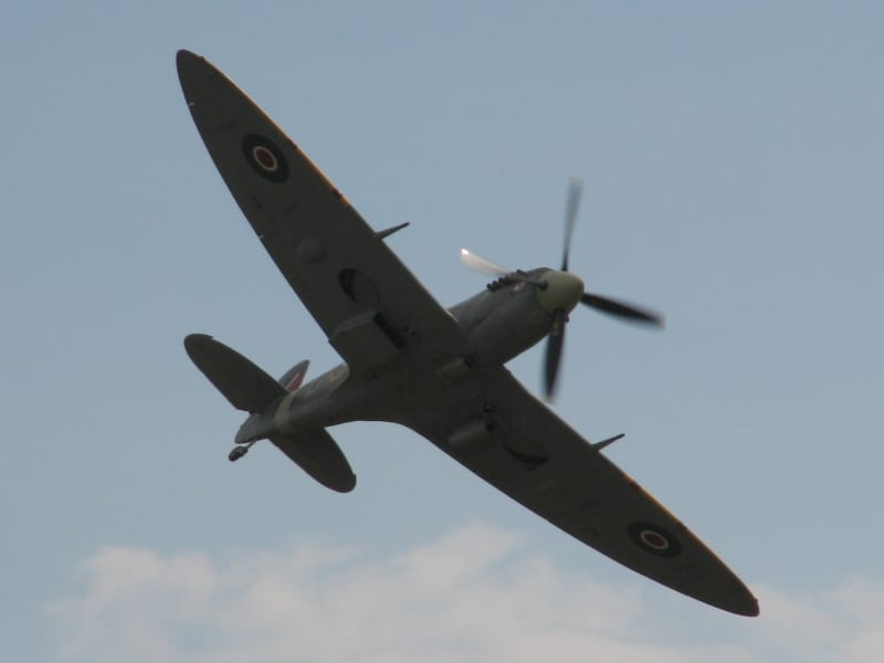 spitfire plane insurance costs
