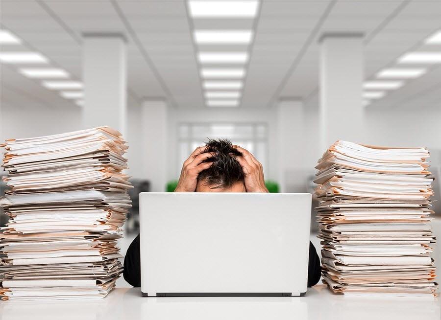 stress computer work