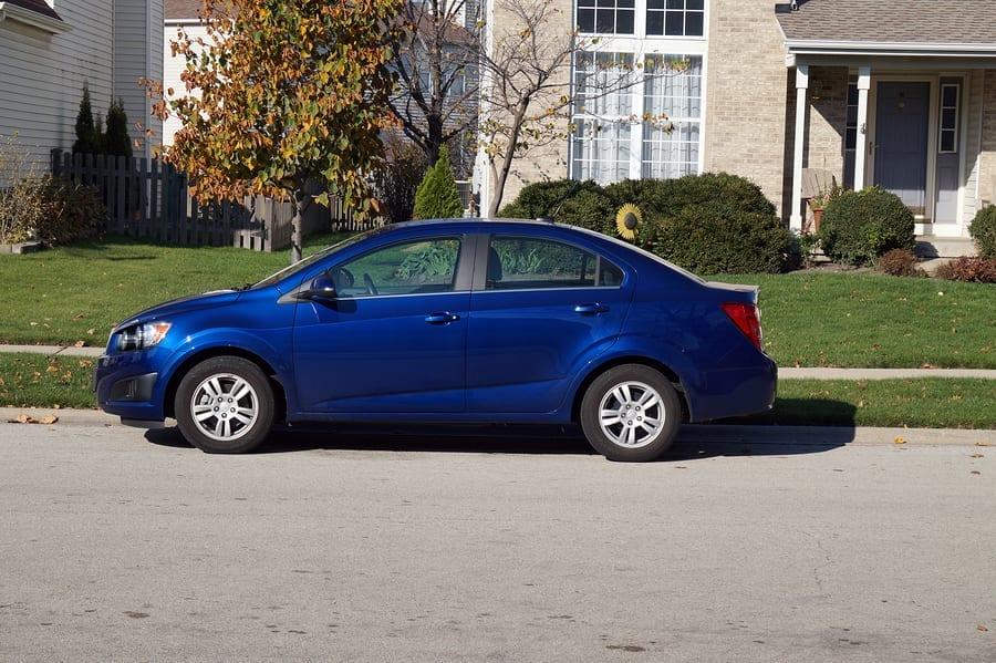 bigstock Blue Car 109662533