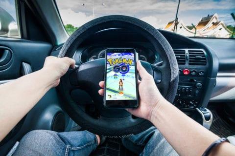 pokemon go accidents driving
