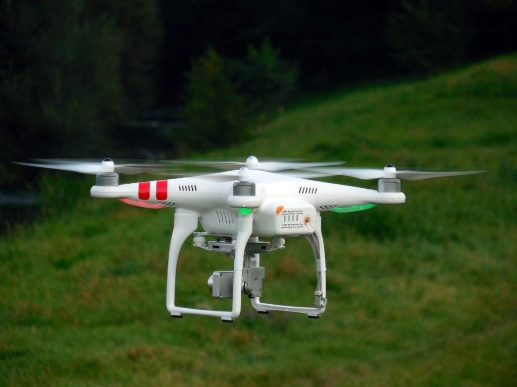 Farmers insurance drone
