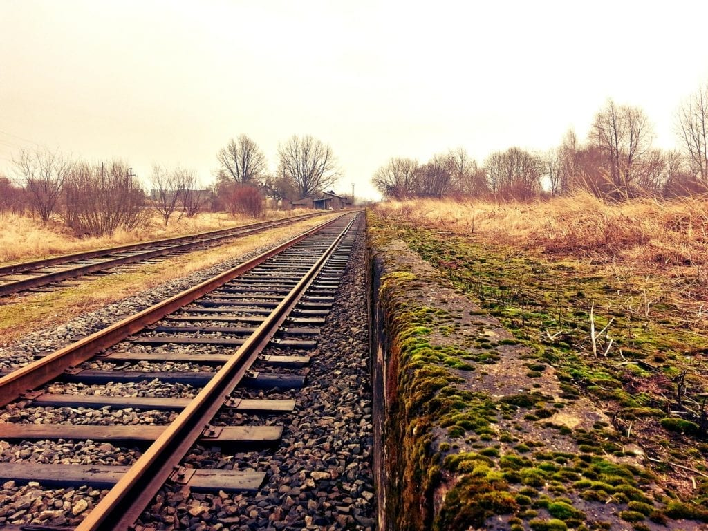 insurance fraud scam hit by train