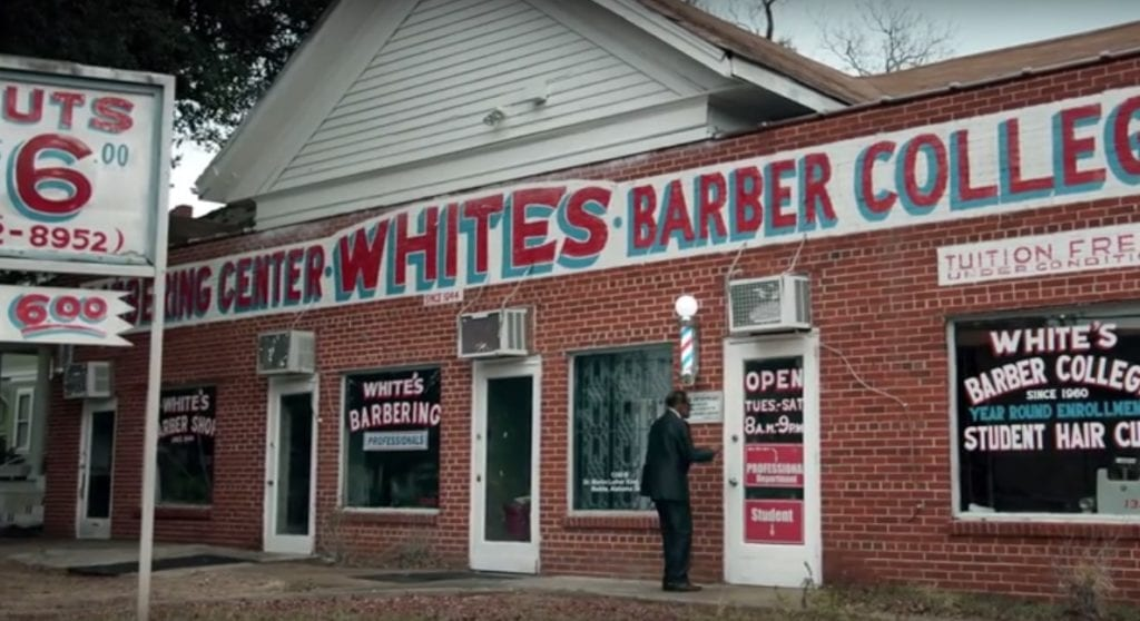 Allstate Insurance Company - White's Barber College Black History Month