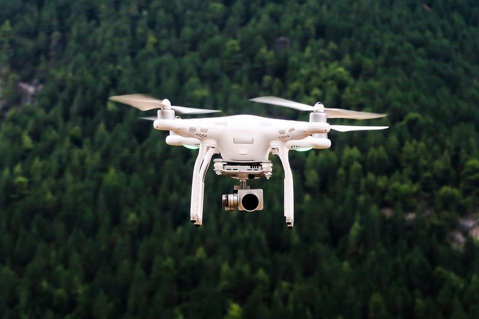 insurance company drones aerial