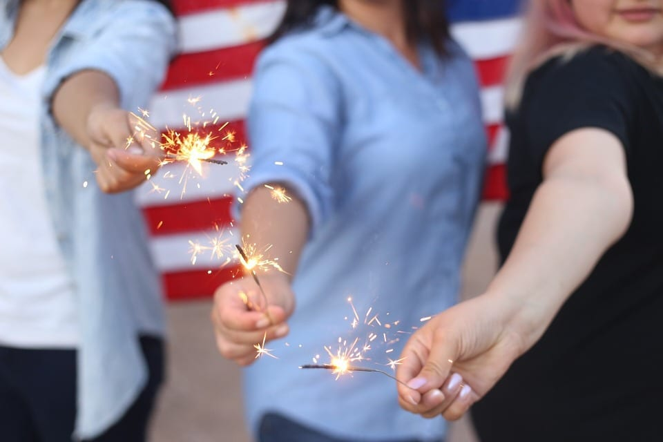 Allstate America's Best Drivers Report data July 4th independence day