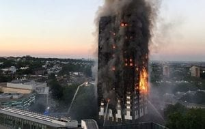 Grenfell London tower block fire
