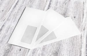 aetna insurance customers envelope window