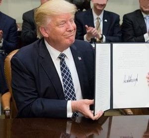 Donald Trump health care subsidies - signing executive order
