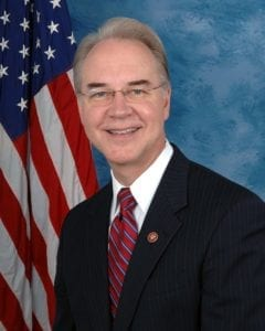 Tom Price health and human services secretary