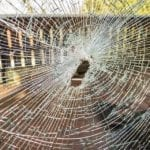standard homeowners insurance broken window vandalism