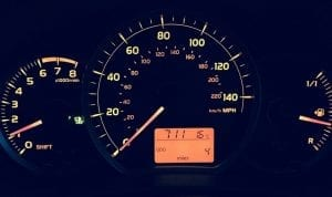 Auto Insurance Premium Discount - Low-mileage - car dashboard