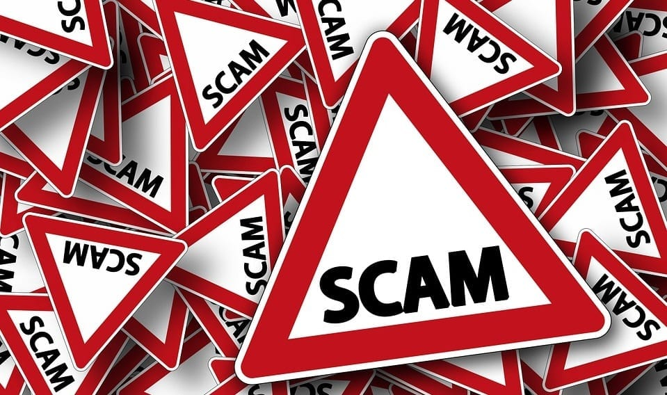 Car insurance company - Scam Alert