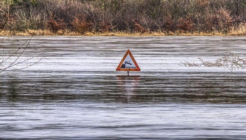 National Flood Insurance Program - Flooding on road