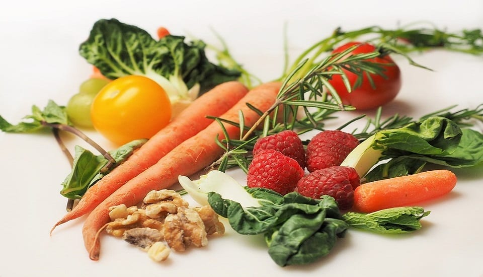 Health food insurance - fruits and vegetables