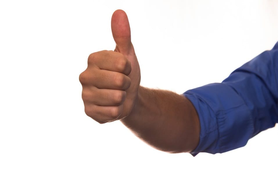 Auto insurance customer satisfaction - Thumbs Up