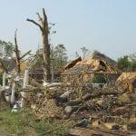 Wilkes-Barre tornado - Tornado Damage
