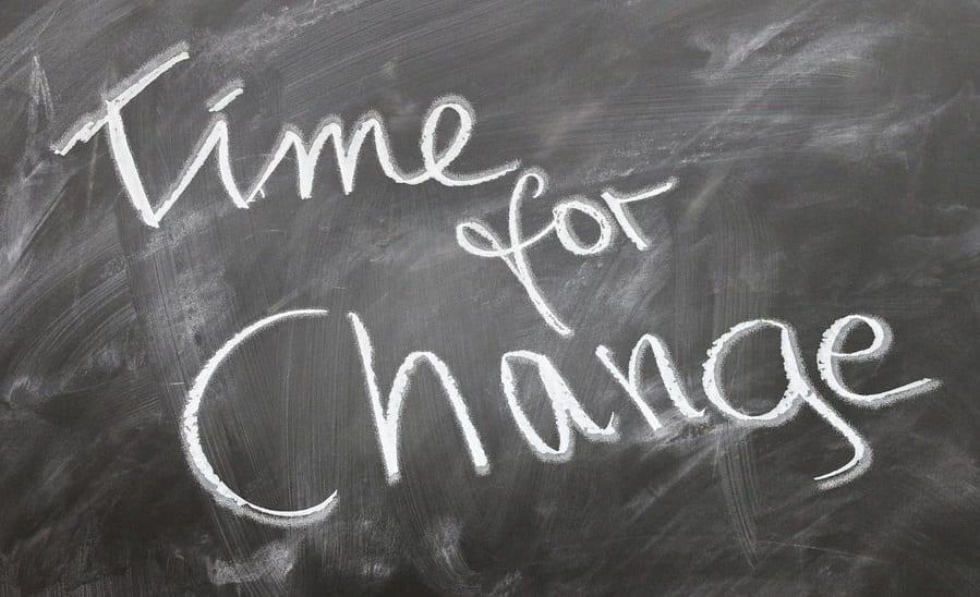 Health Insurance Benefits - Time For Change - chalkboard