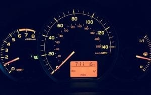 Pay per mile insurance - Speedometer - Miles