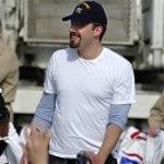 Batman movie insurance - Actor Ben Affleck in 2016 - US Navy