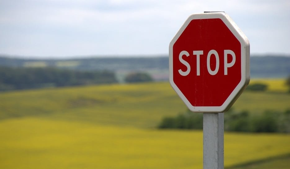 California Insurance Commissioner want to stop merger - Stop Sign