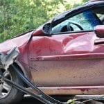 auto insurance fraud - Car Crash