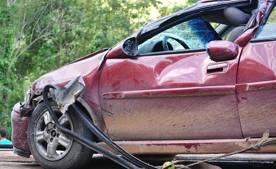 auto insurance fraud - Car Crash