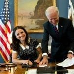 Affordable Health Care - Julia Louis-Dreyfus & Former Vice Presidnet Joe Biden