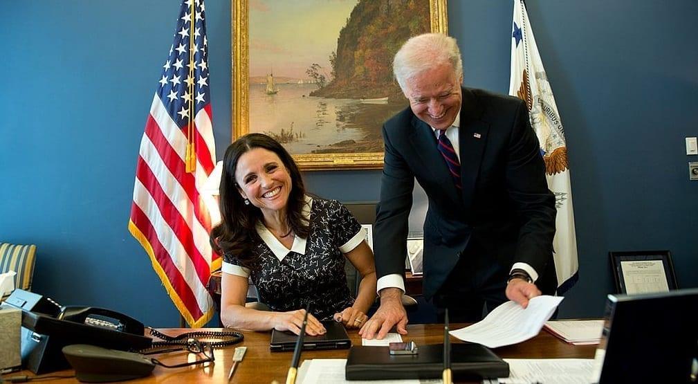 Affordable Health Care - Julia Louis-Dreyfus & Former Vice Presidnet Joe Biden