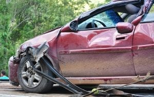 No-fault insurance - car crash